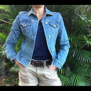 BOGO! Gap stretch jean jacket size small like new